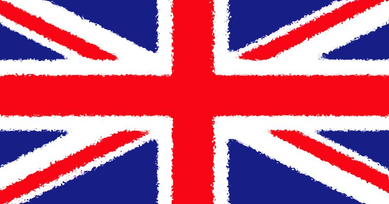 Fuzzy edged Union Jack