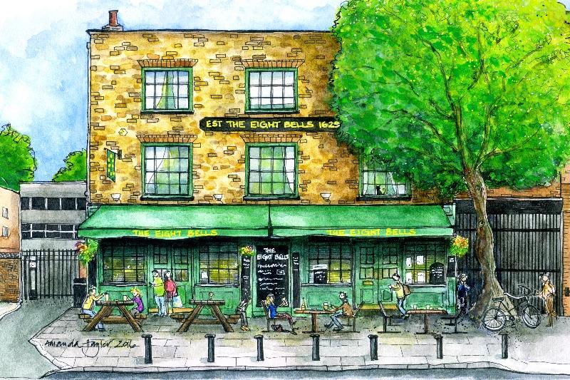 The Eight Bells Pub SW6