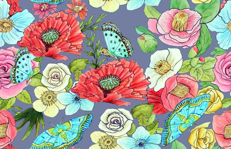 Floral Watercolour rose