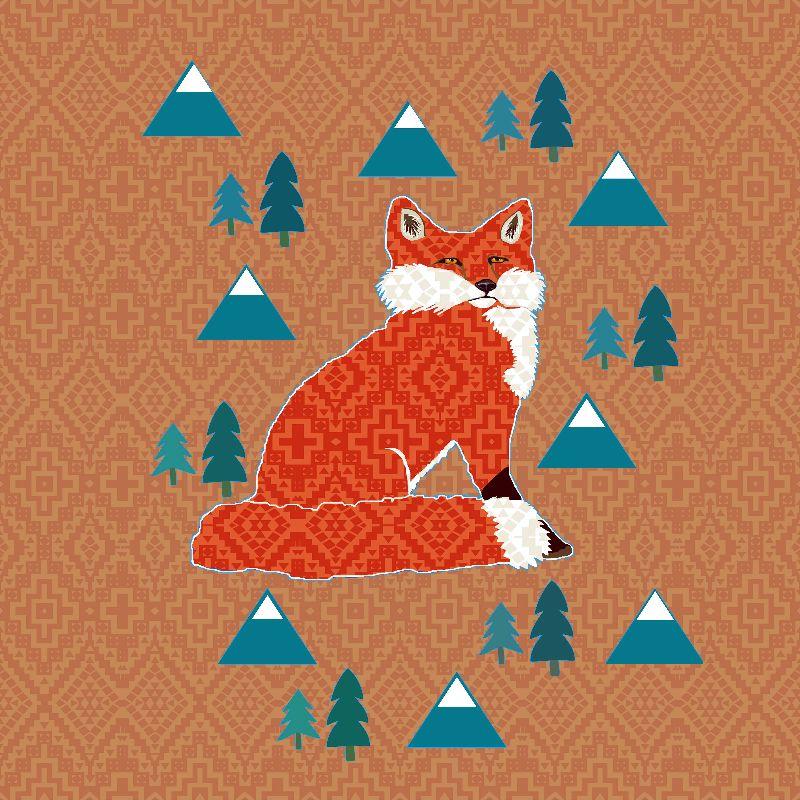 Fox on Rust geometric