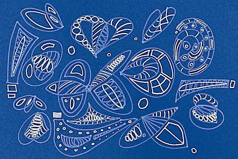 Blue Sticks n Shells