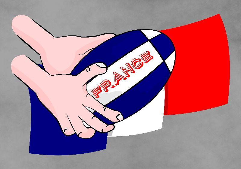 France Rugby Flag