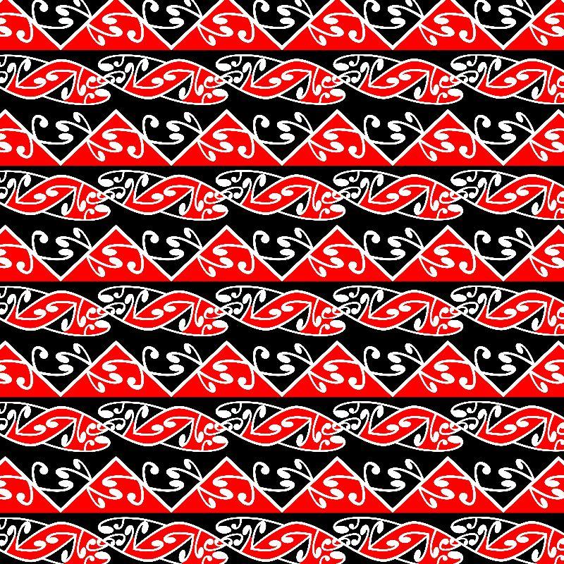 Maori Kowhaiwhai Pattern