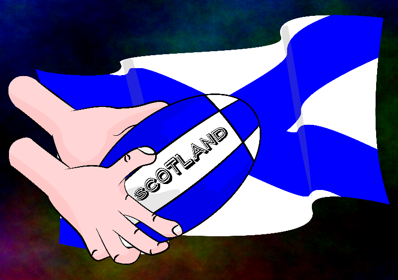 Rugby Scotlanld Flag