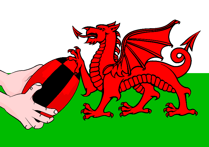 Wales Rugby Flag
