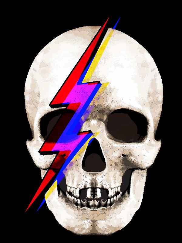 Skull David Bowie