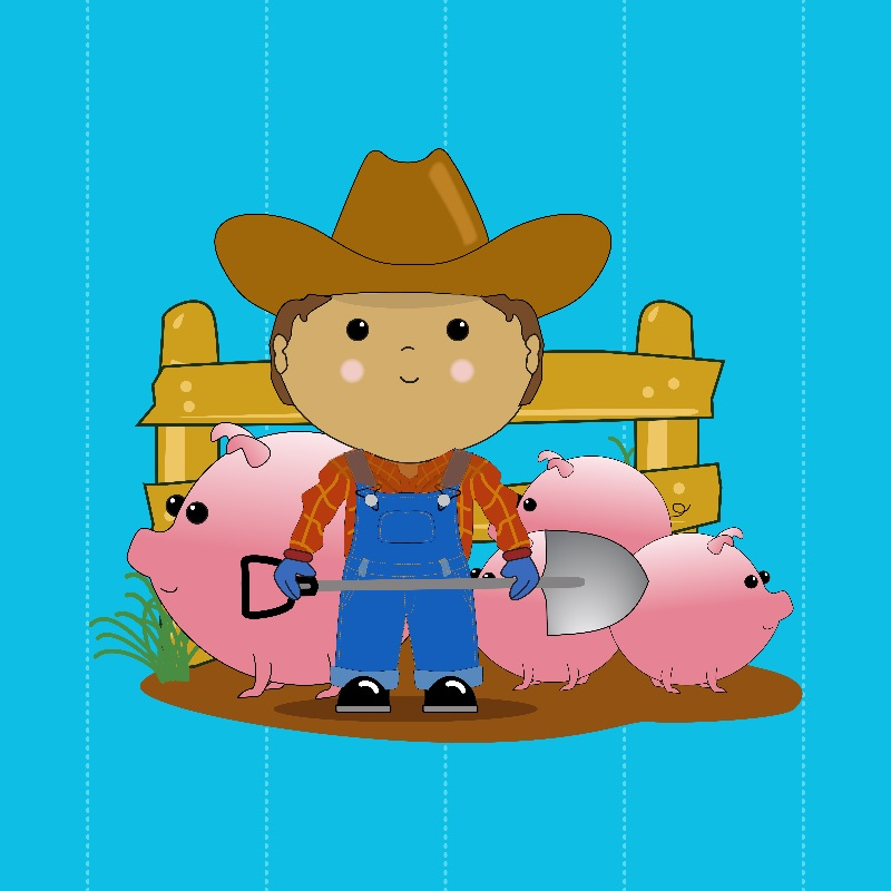 Rancher  Pigs Kawaii