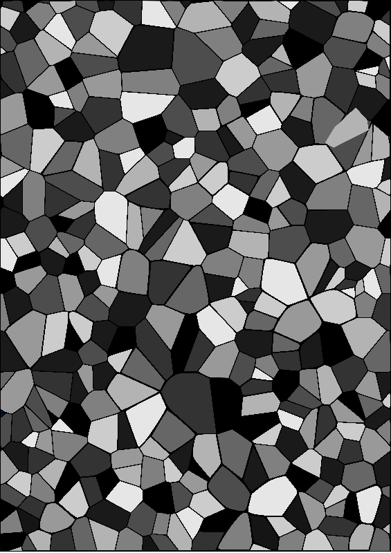 Grey Geometric Mosaic