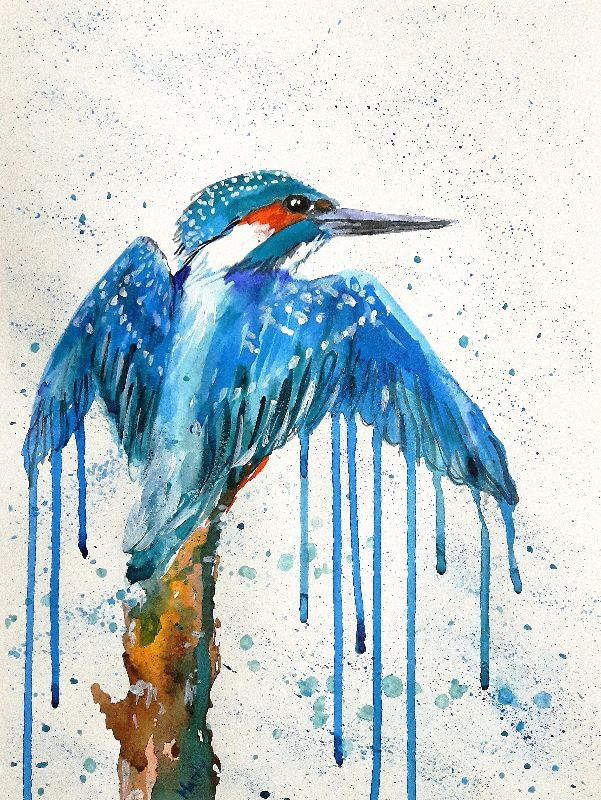 Dripping kingfisher