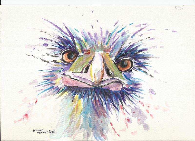 Emu or Ostrich cuties