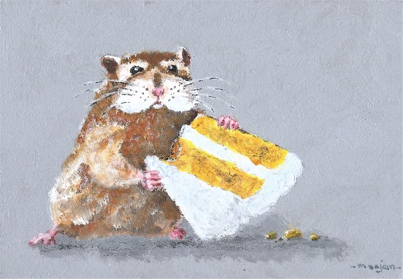 Hamster and Cake