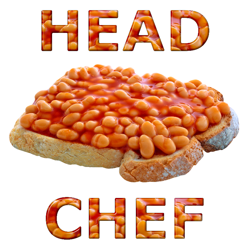 Head Chef Beans on Toast