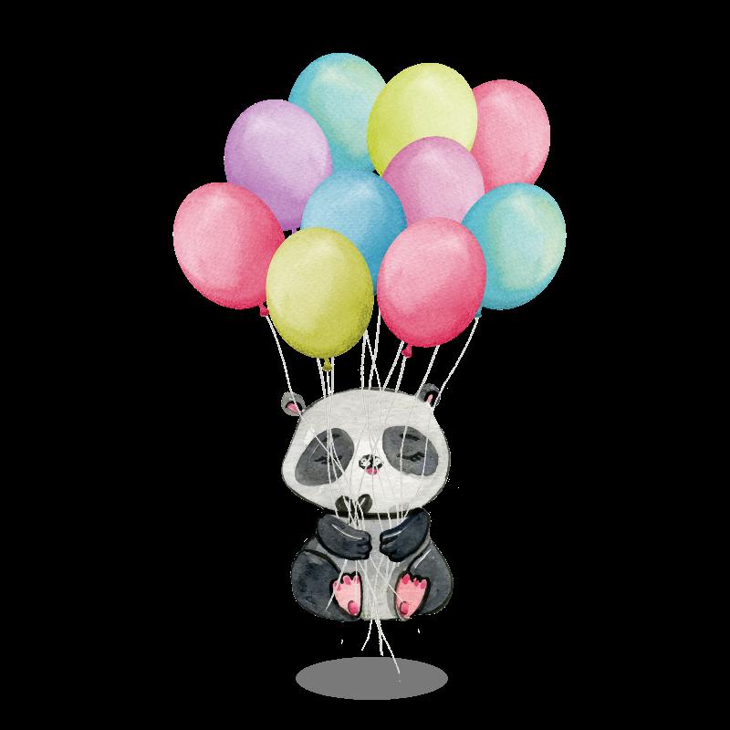 Panda  Floting Meditation