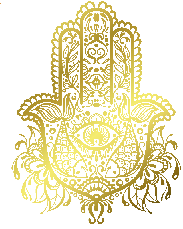 Royal Golden Hamsa