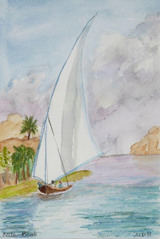 A Nile Boat  2013
