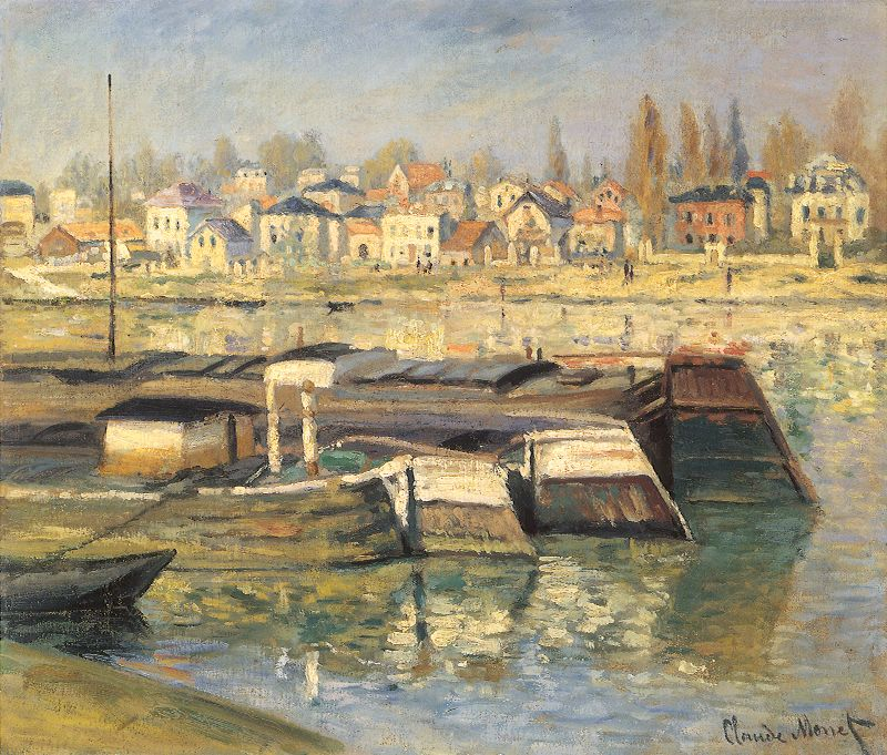 Asnieres by Claude Monet