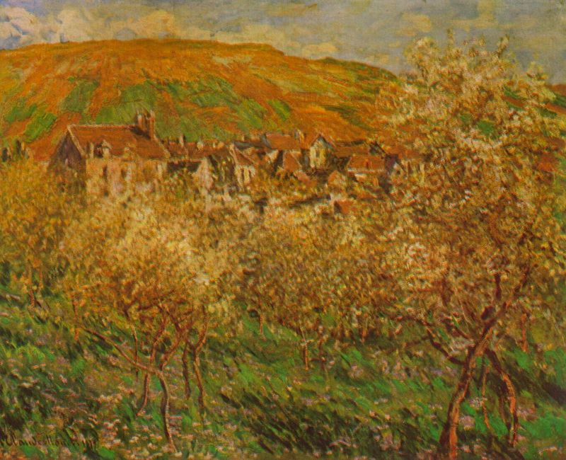 Claude Monet Apple Trees