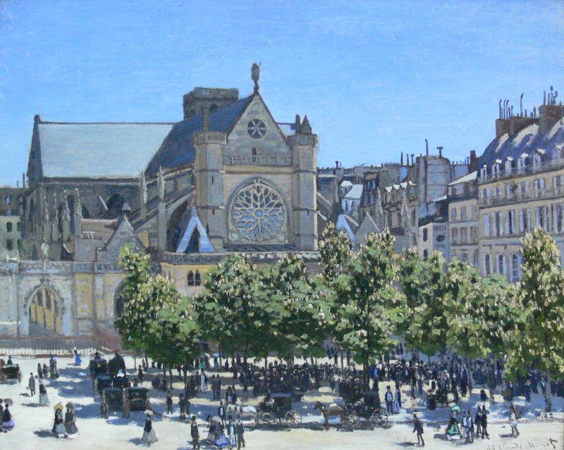 Claude Monet Church
