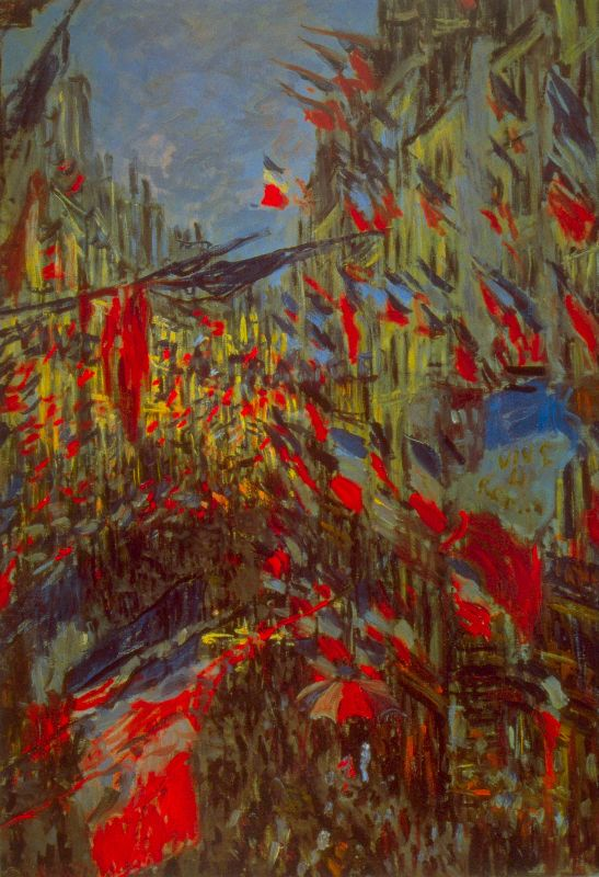 Claude Monet Flags