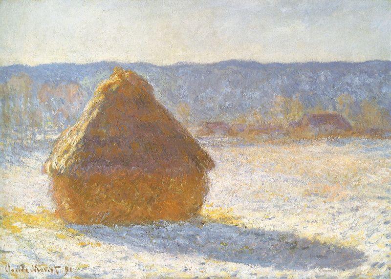 Claude Monet Grainstack