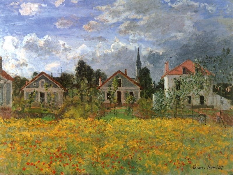 Claude Monet Houses