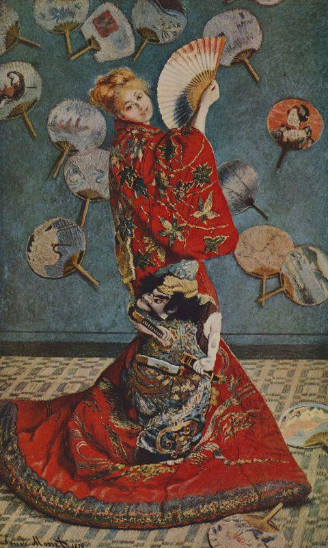 Claude Monet La Japonaise