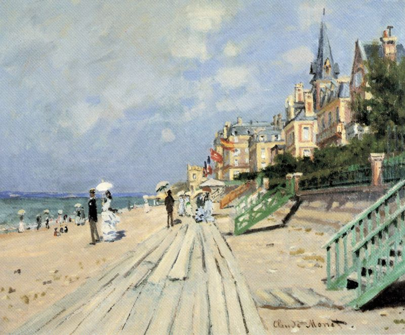 Claude Monet Trouville