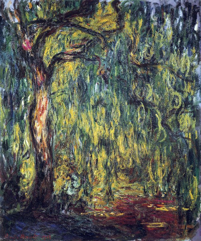 Claude Monet Willow
