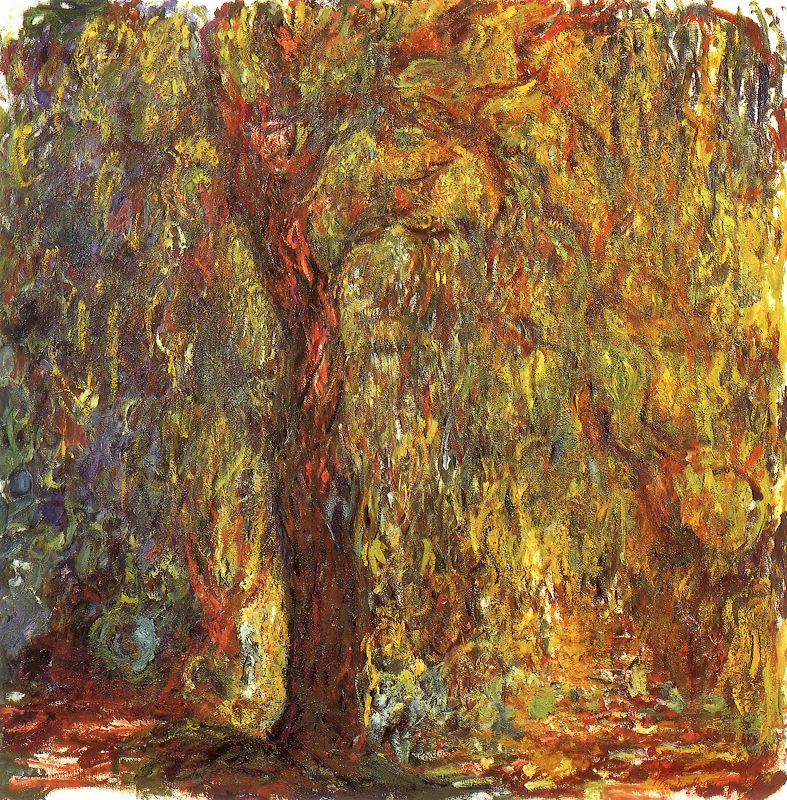 Claude Monet Willows