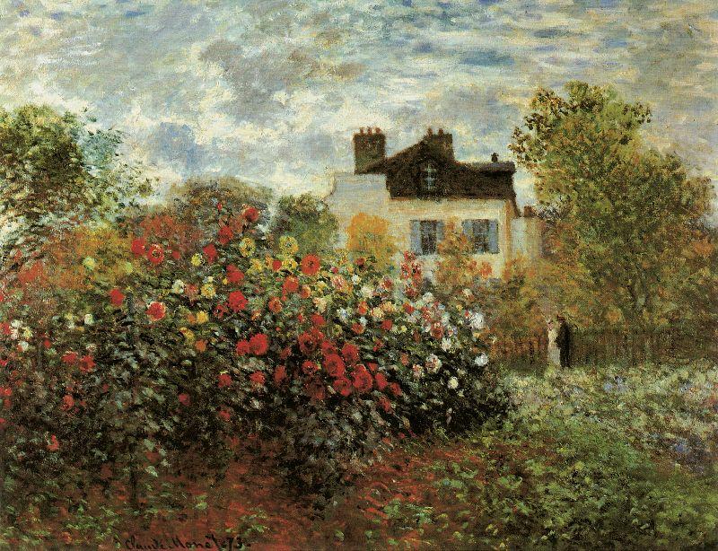 Claude Monets Garden
