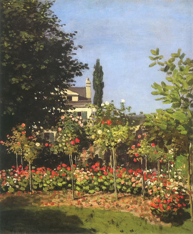 Garden by Claude Monet