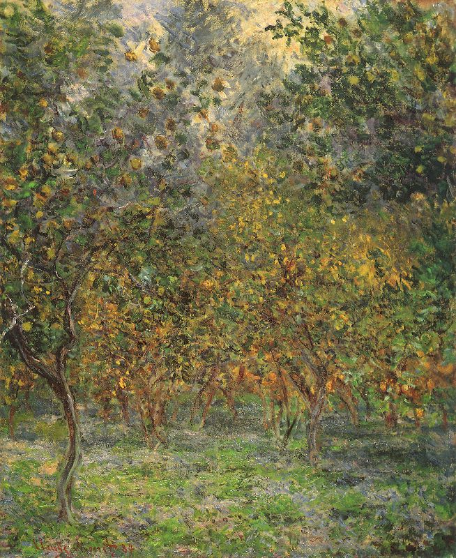 Lemon Grove Claude Monet