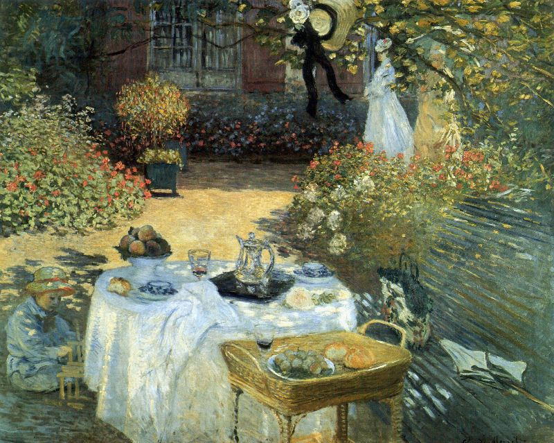 Luncheon by Claude Monet