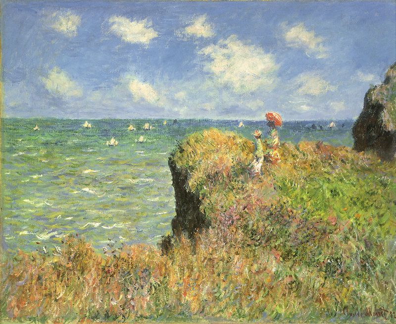Pourville by Claude Monet