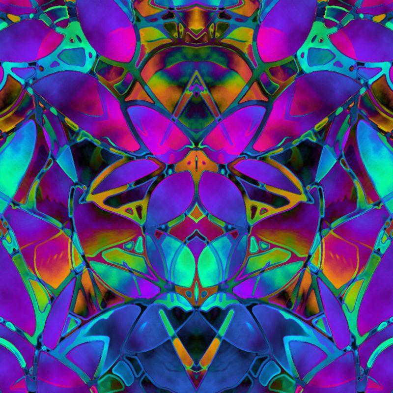 Floral Fractal Art G14