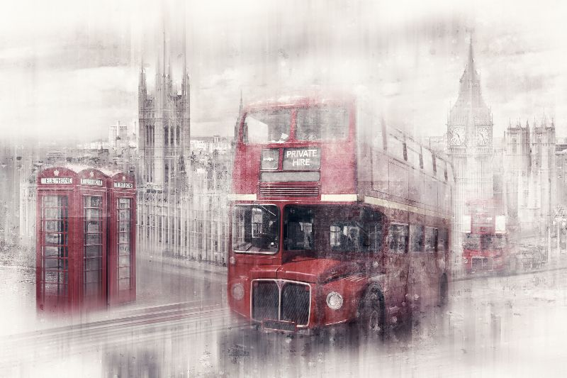CityArt LONDON Collage