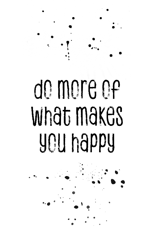 Text Art HAPPY