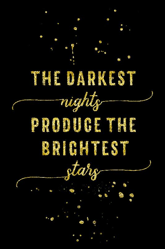 The darkest nights