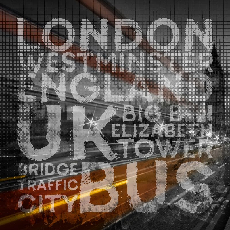 Trendy LONDON Traffic