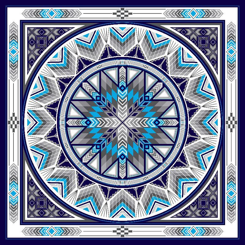 Sacred Places Blue