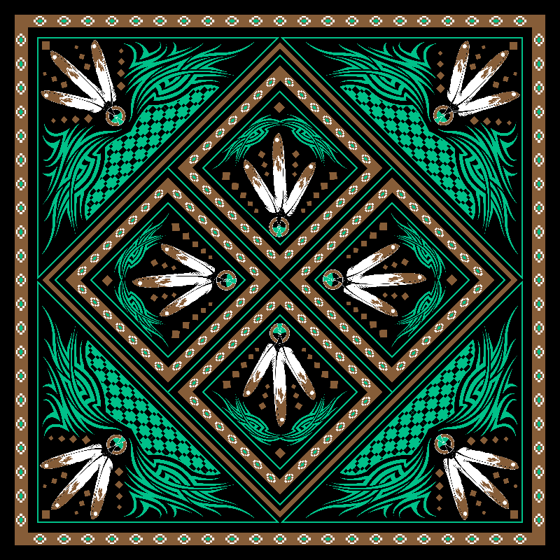 Tribal Feather Design