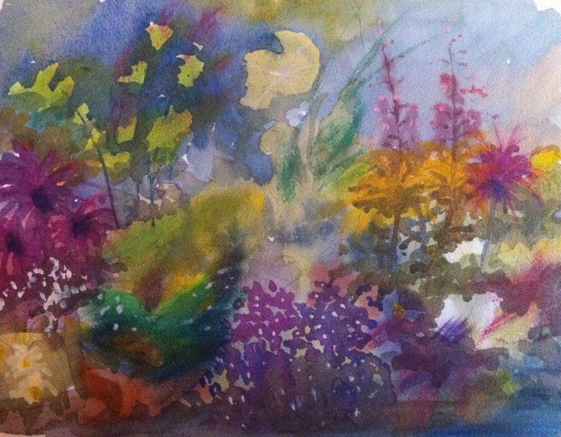 August garden colours