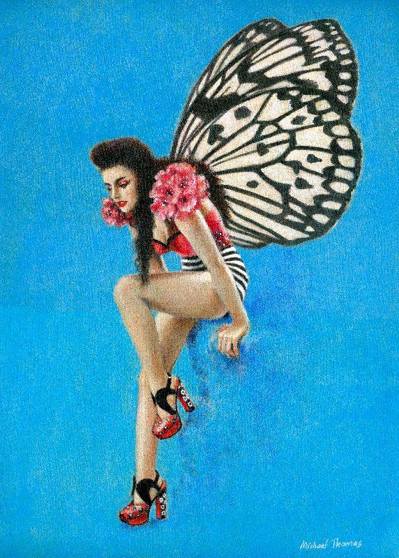 Vintage Rockabilly Fairy