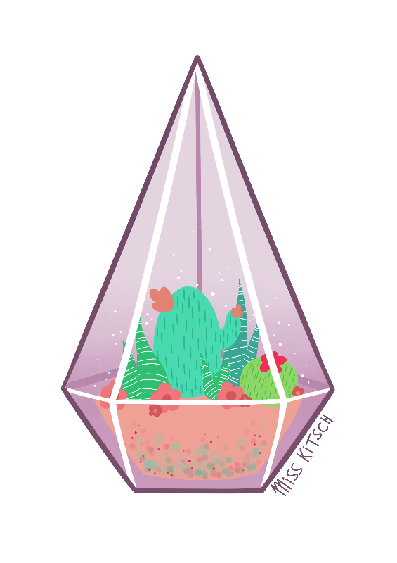 Tiny Terrarium One