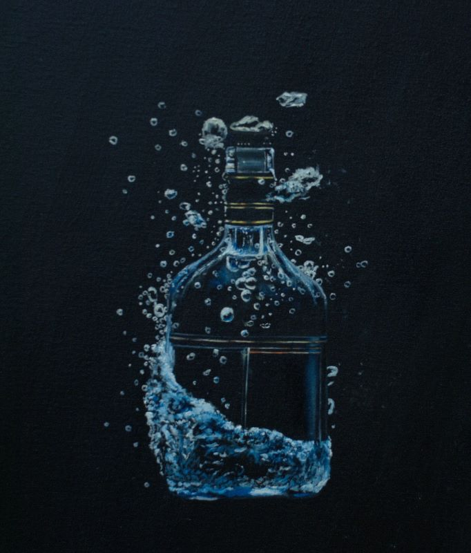 Dry bottle Art