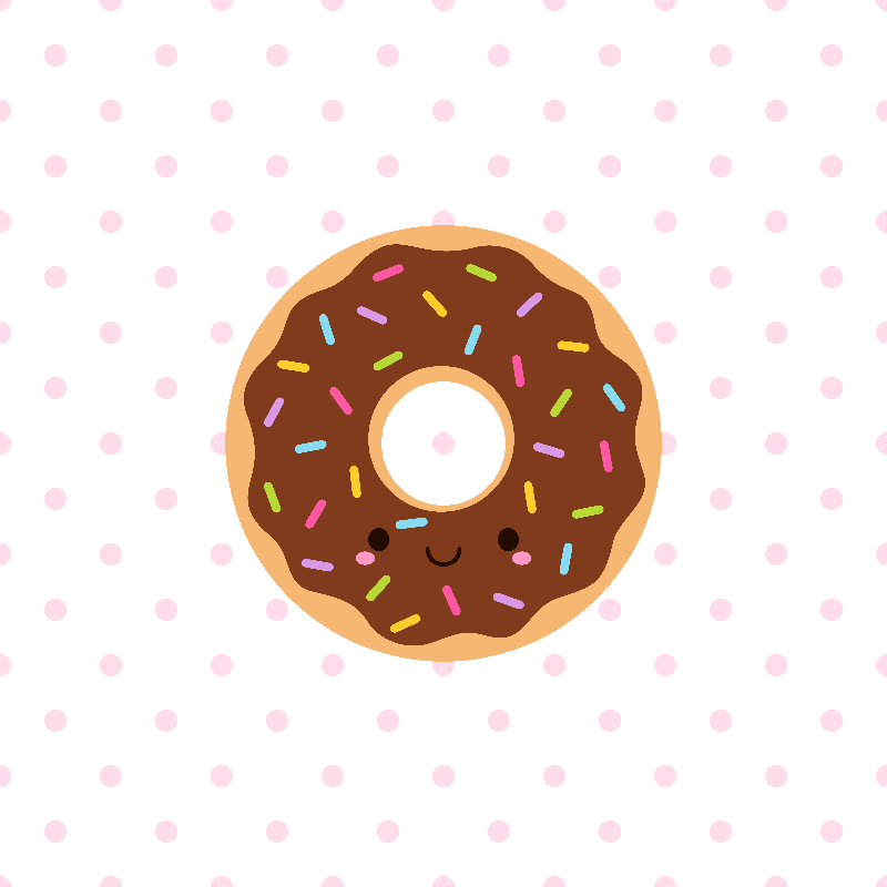 Happy Sprinkles Donut