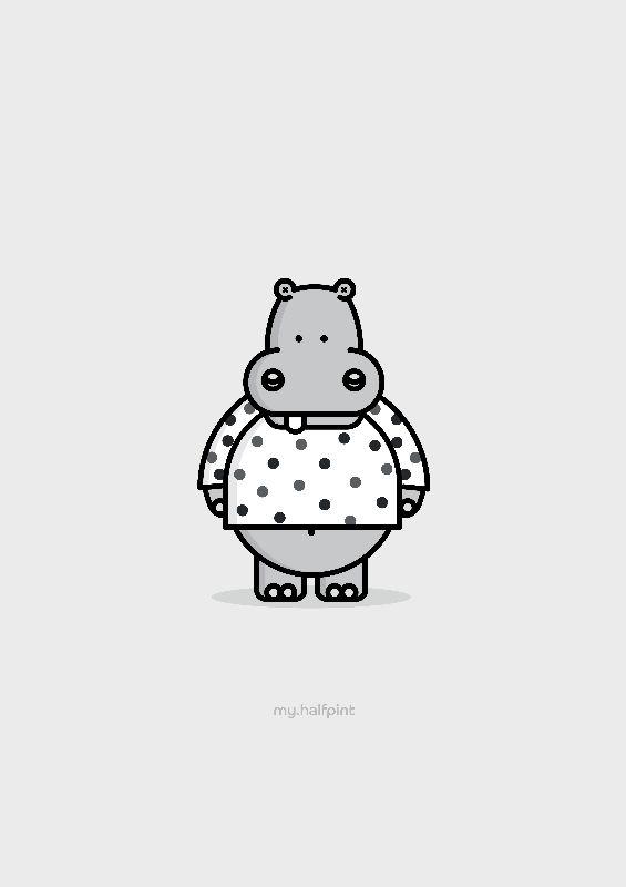 My Halfpint Hippo