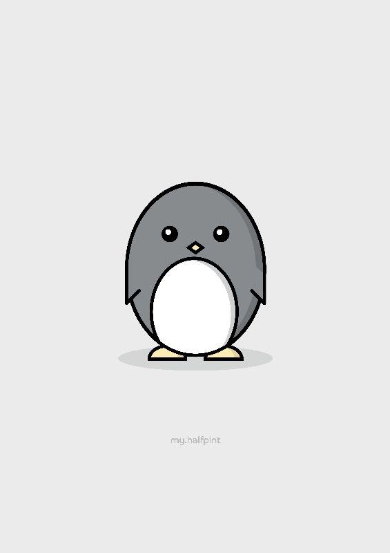 My Halfpint Penguin