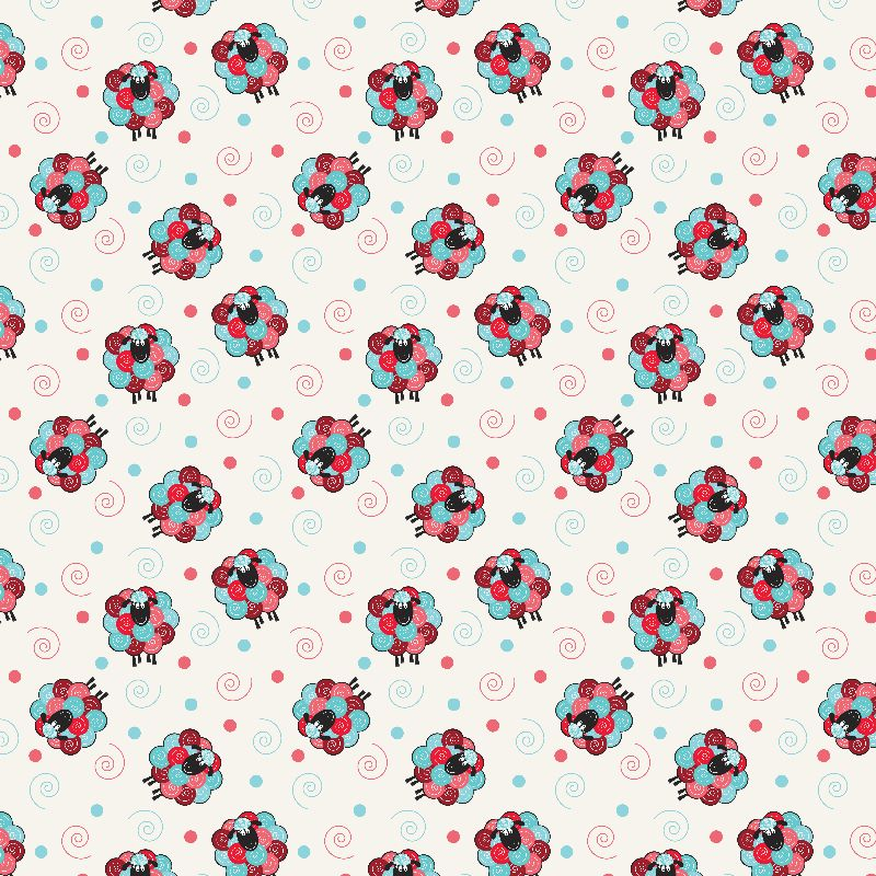 Curly the Sheep Pattern