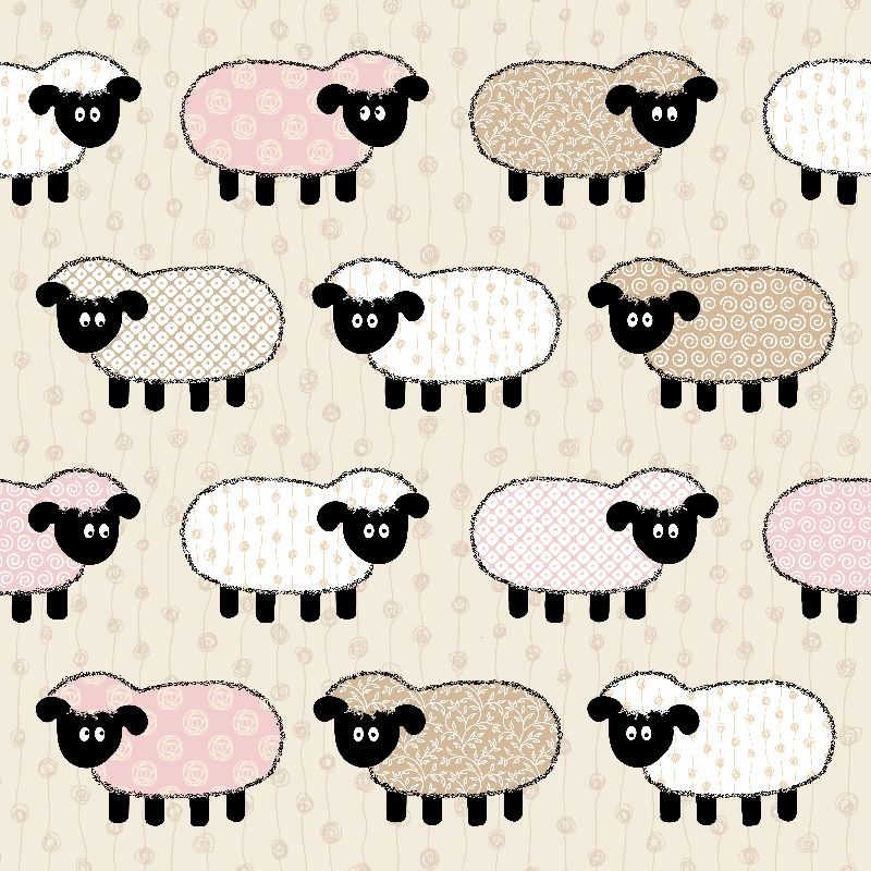 Fun Sheep Pattern